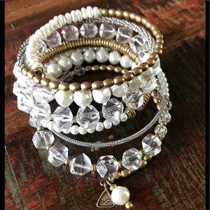 Silpada Practically pearls bracelet